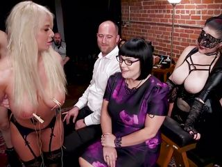 two hotties are trained to become perfect sex slaves